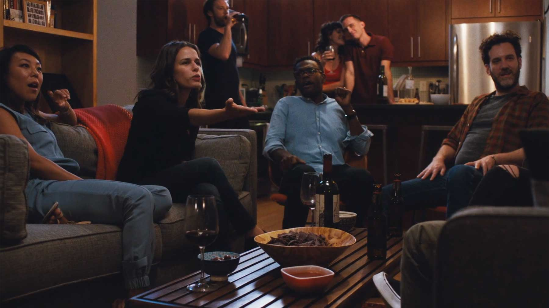 """In diesem Kurzfilm wird """"Werwölfe"""" (oder """"Mafia"""") gespielt"""