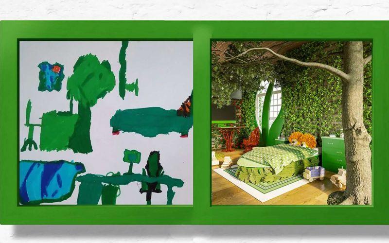7 Kinderzimmer nach Wunsch-Zeichnungen umgesetzt