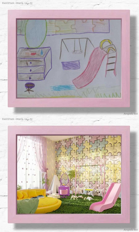 7 Kinderzimmer nach Wunsch-Zeichnungen umgesetzt Angies-List-kinderzimmerfantasien_01