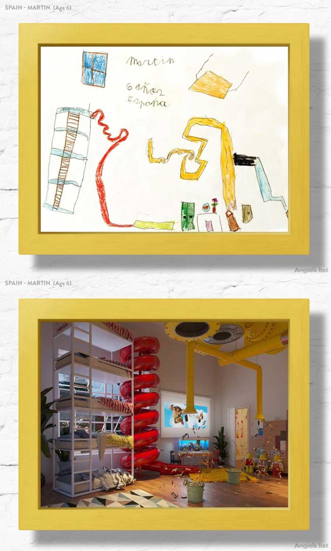 7 Kinderzimmer nach Wunsch-Zeichnungen umgesetzt Angies-List-kinderzimmerfantasien_02