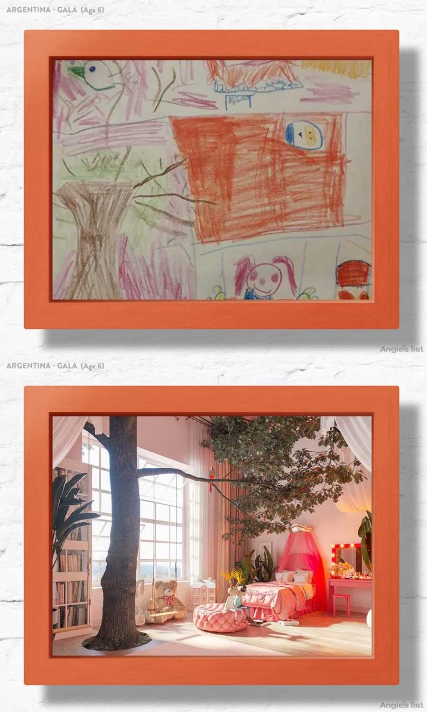 7 Kinderzimmer nach Wunsch-Zeichnungen umgesetzt Angies-List-kinderzimmerfantasien_03