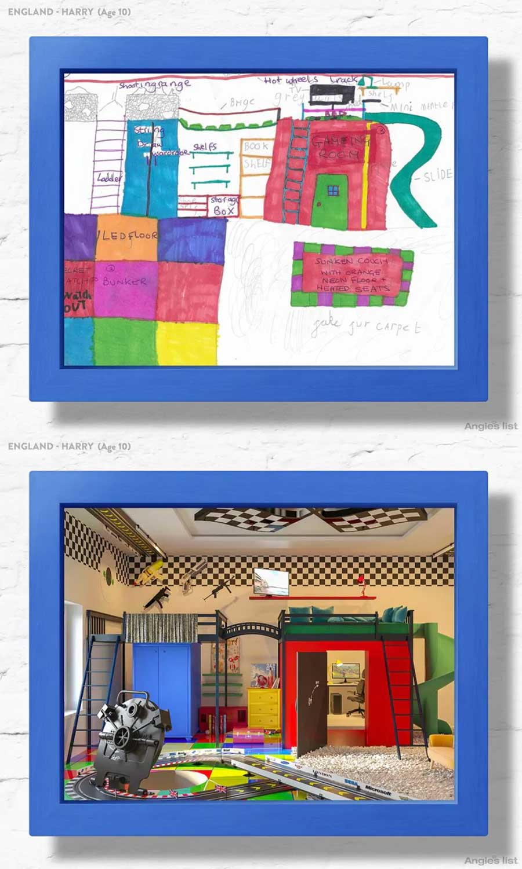 7 Kinderzimmer nach Wunsch-Zeichnungen umgesetzt Angies-List-kinderzimmerfantasien_06