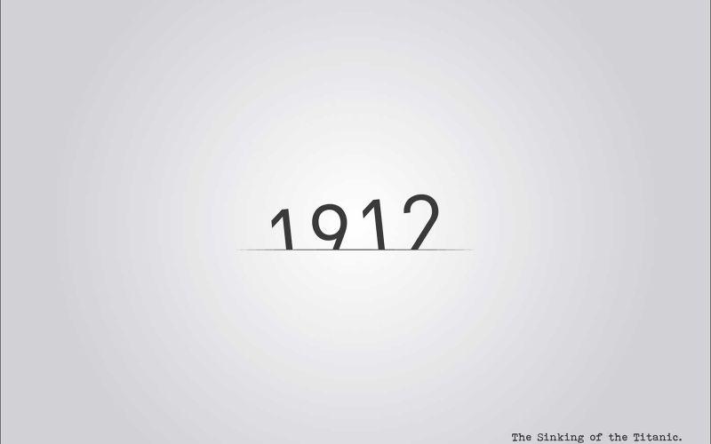 Jahreszahlen anhand ihrer Geschehnisse gestaltet