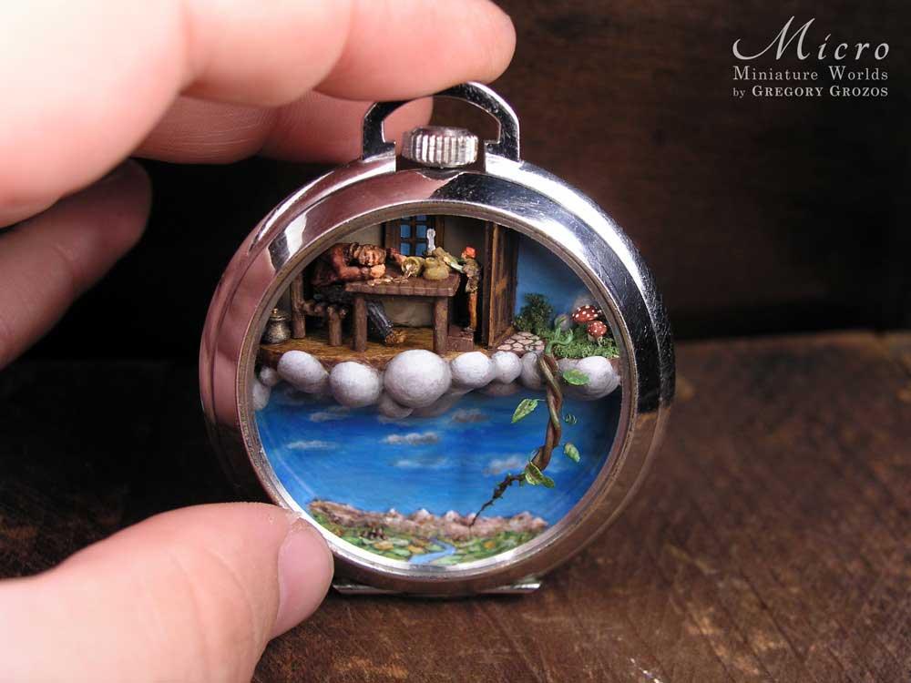 Gregory Grozos erstellt Miniaturwelten in Taschenuhren und Co. Gregory-Grozos-mirco-miniature-worlds_04