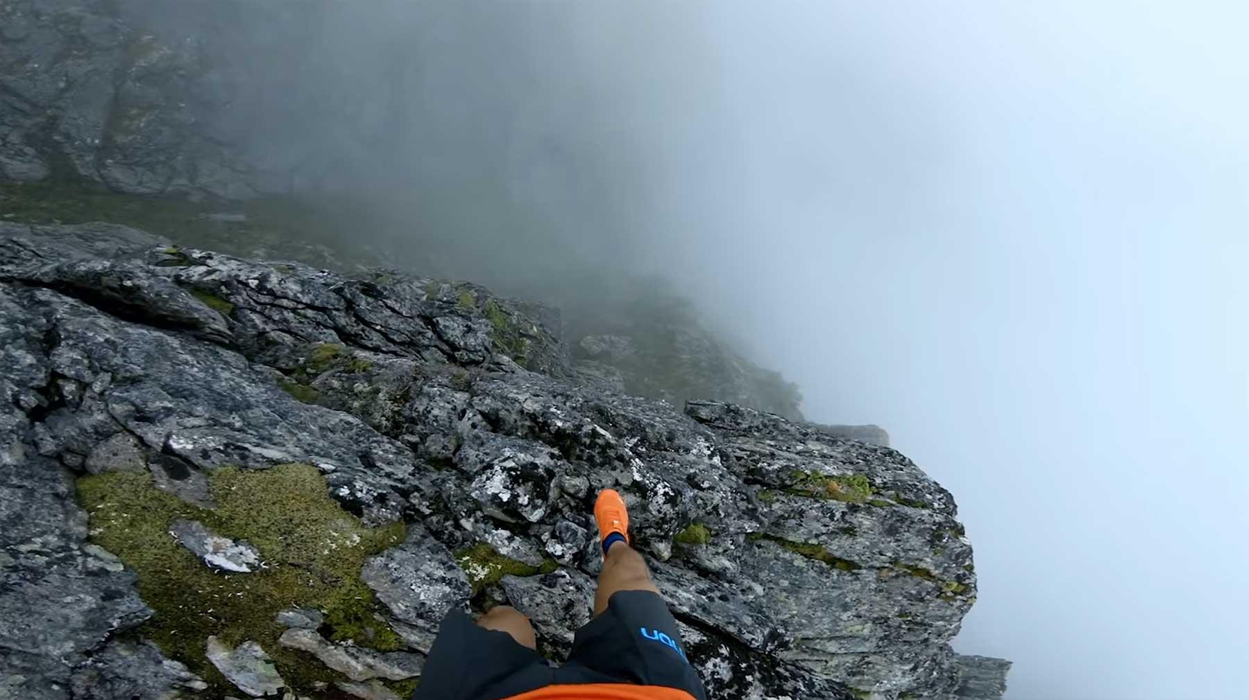 Mit Kilian Jornet auf Bergkämmen laufen