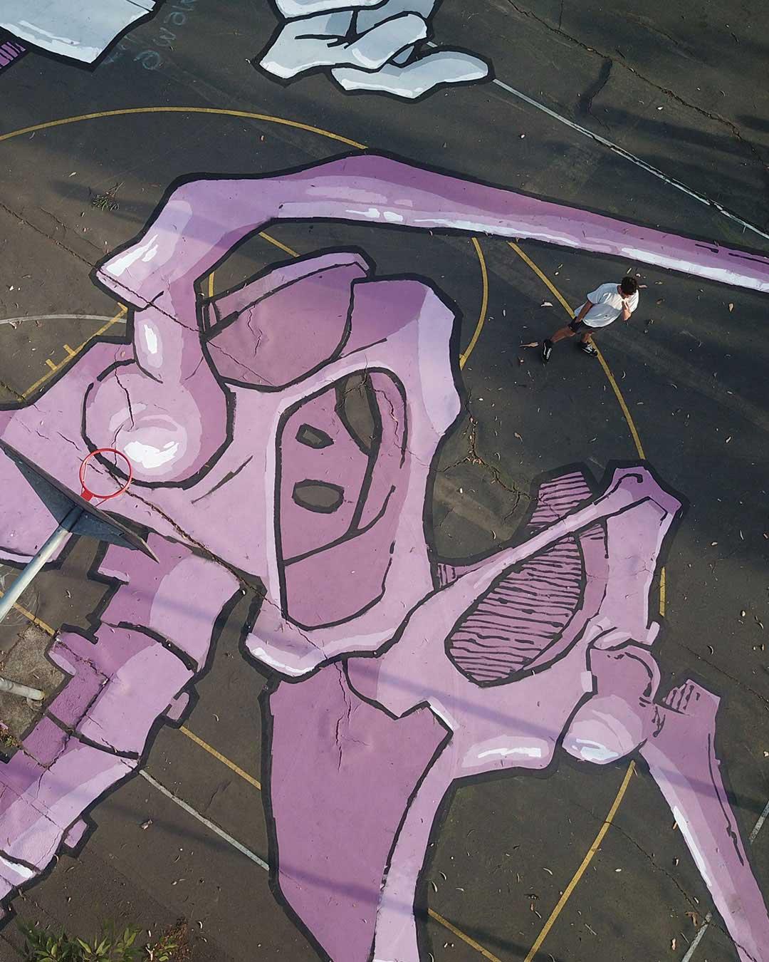 Die gigantischen Boden-Murals von Kitt Bennett Kitt-Bennett-murals_05