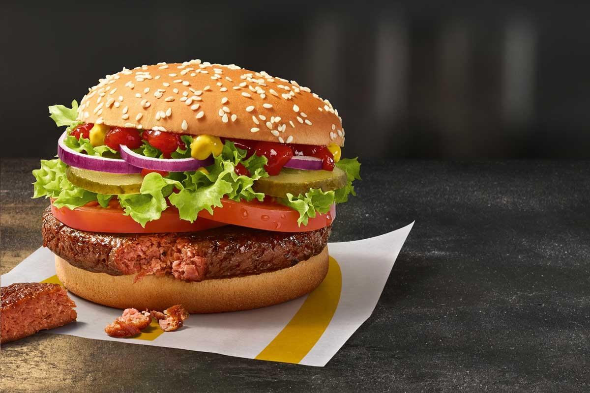 "Der erste vegane Burger bei McDonald's heißt ""Big Vegan TS"""