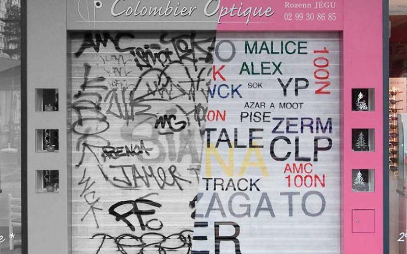 Mathieu Tremblin macht Graffiti-Tags leserlich
