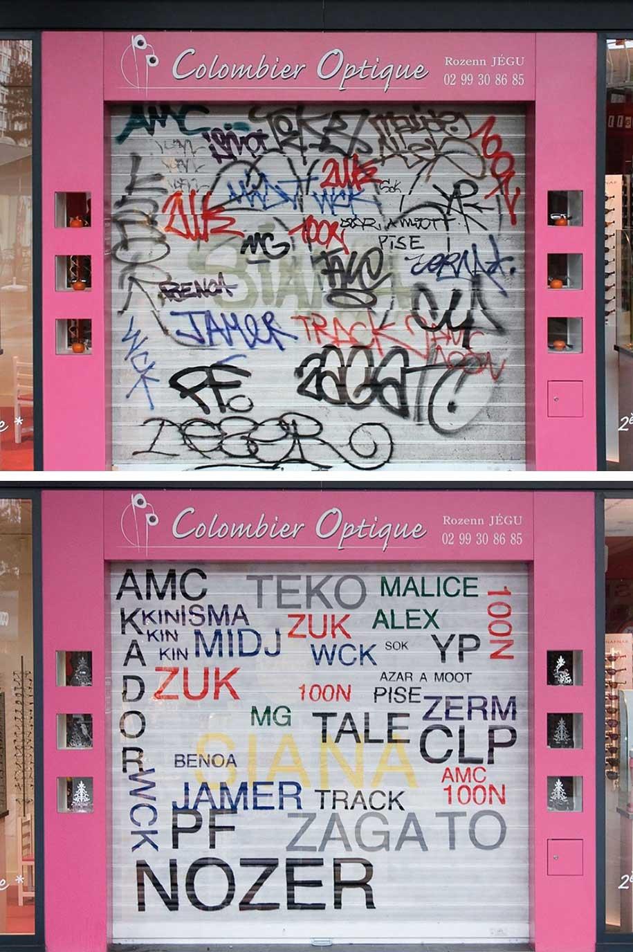 Mathieu Tremblin macht Graffiti-Tags leserlich Mathieu-Tremblin-tag-clouds-graffiti_05