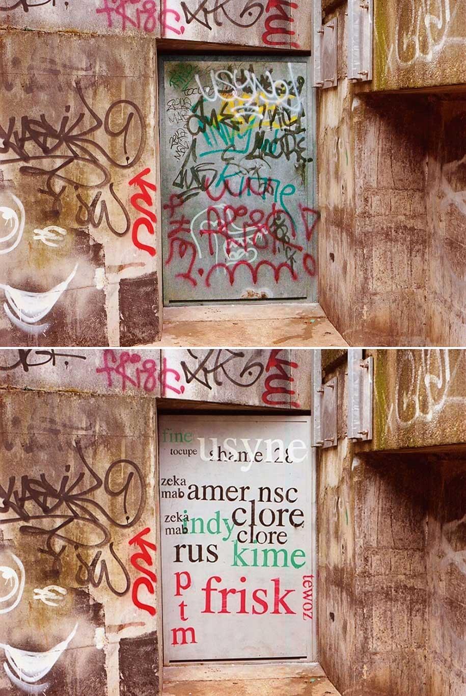 Mathieu Tremblin macht Graffiti-Tags leserlich Mathieu-Tremblin-tag-clouds-graffiti_06