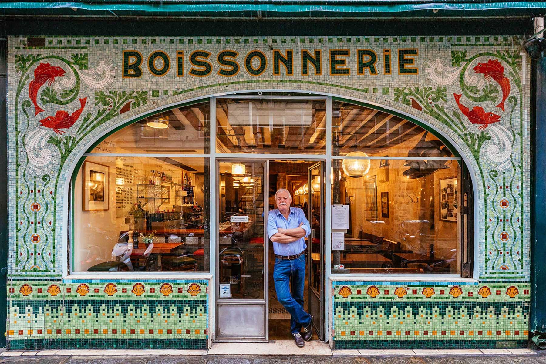 Pariser Läden und ihre Besitzer