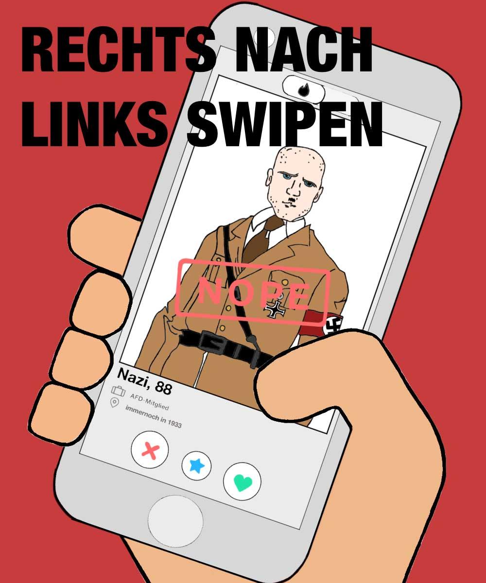 """""""Sticker gegen Rechts"""": Die Gewinner-Motive 2019 Sticker-gegen-Rechts-2019-gewinner_02"""