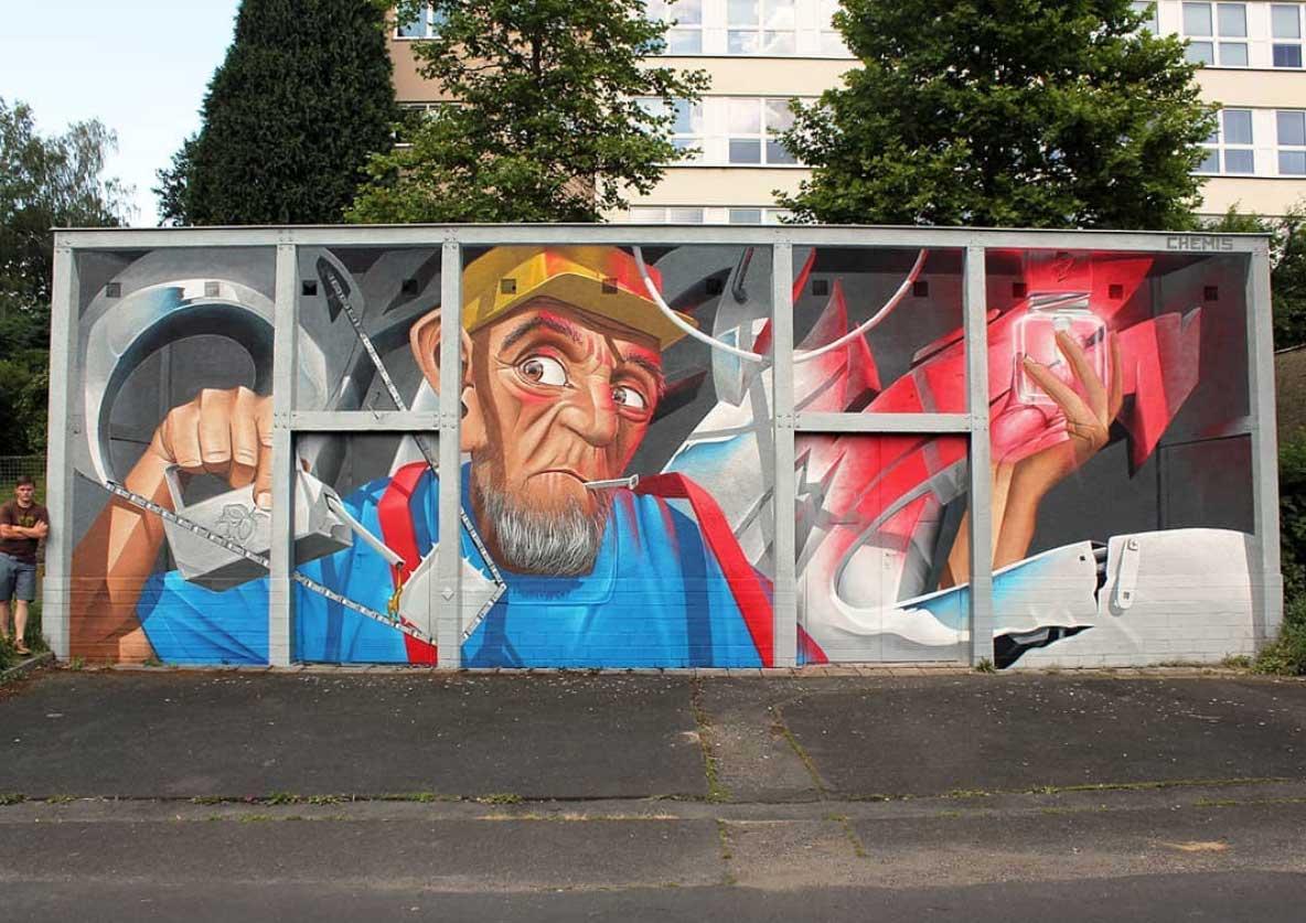 Street Art: Chemis Street-Art-Chemis_08