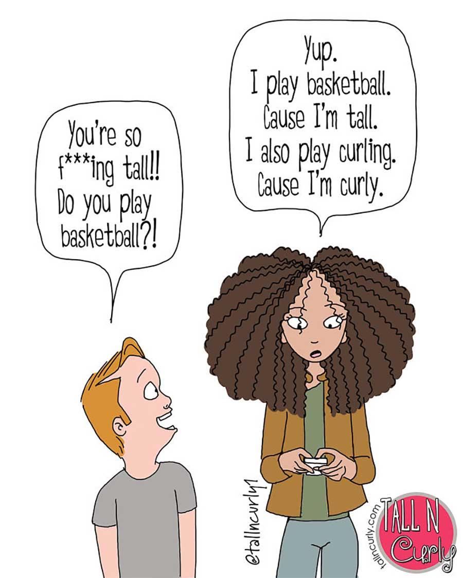 Webcomic über die Probleme großgewachsener Frauen Tall-n-curly-webcomics_04