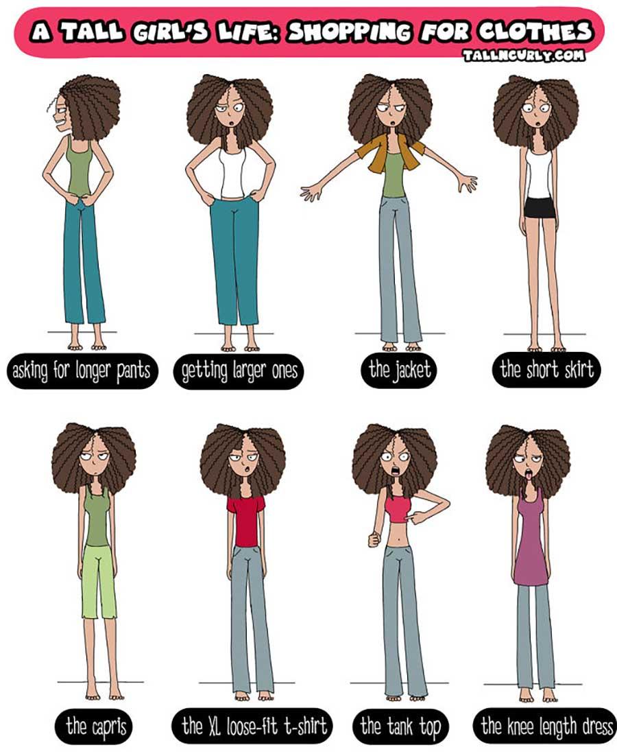 Webcomic über die Probleme großgewachsener Frauen Tall-n-curly-webcomics_10