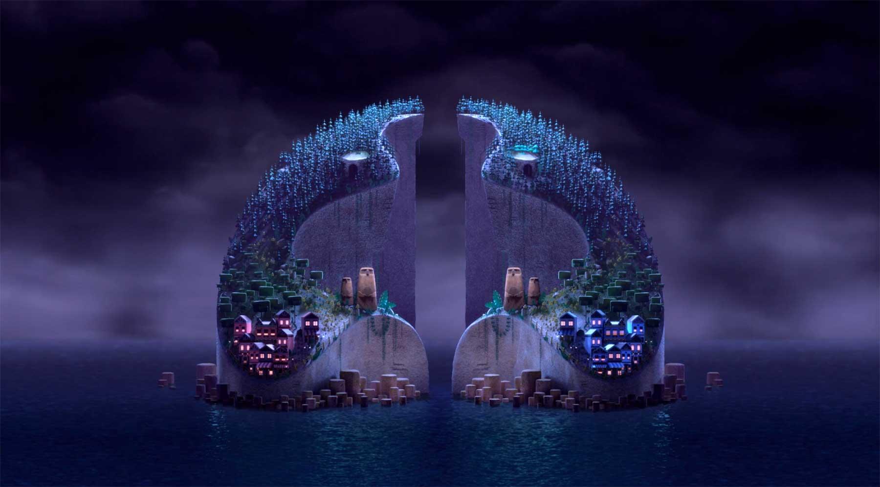 Auf diesen Zwillingsinseln muss alles symmetrisch sein