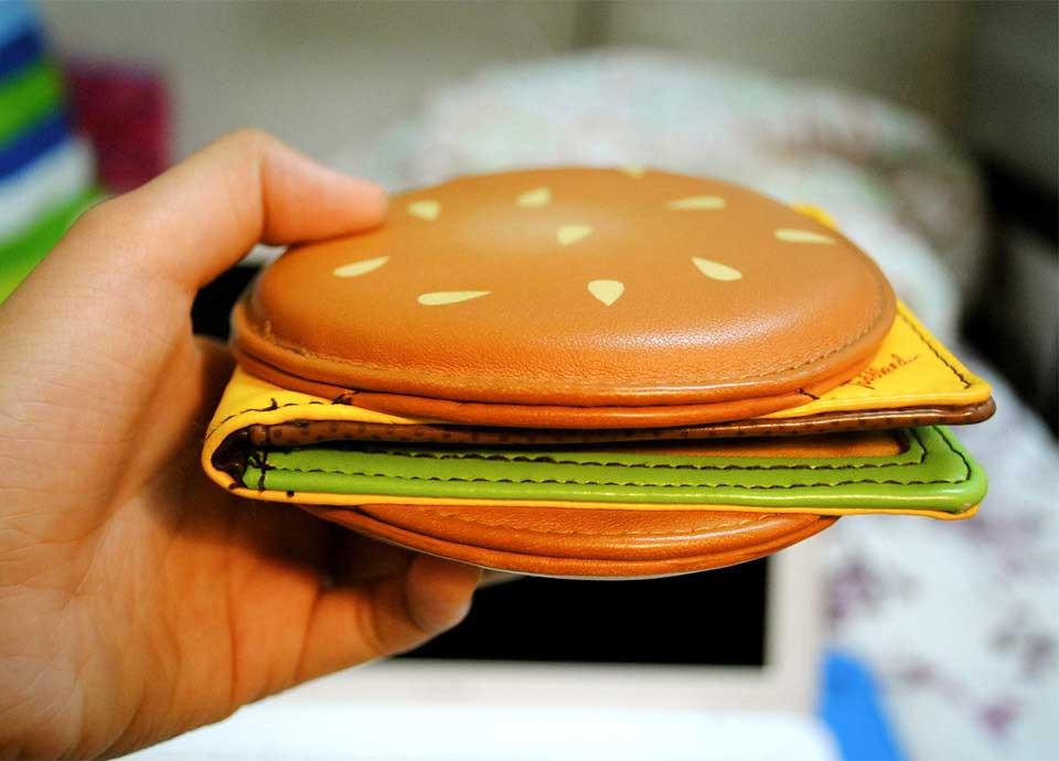 Cheeseburger-Portemonnaie