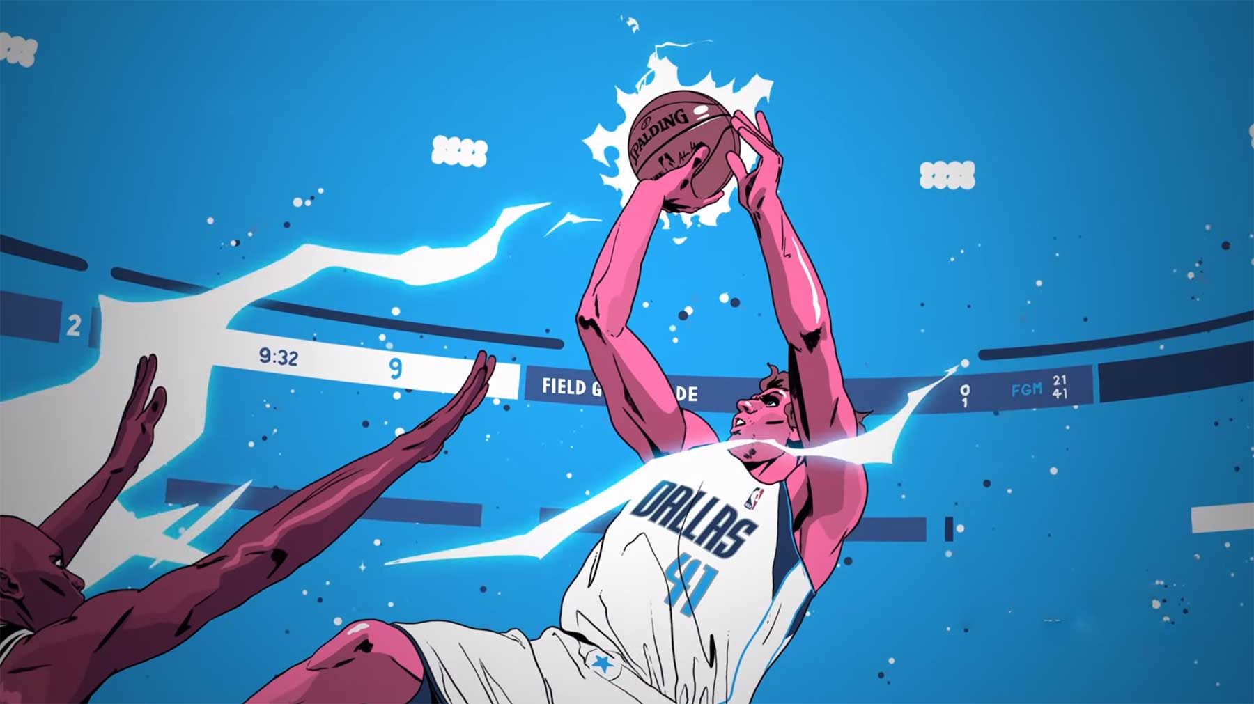 "Nikes inspirierendes Tribute an Dirk ""The Maverick"" Nowitzki dirk-nowitzki-animated-hommage"