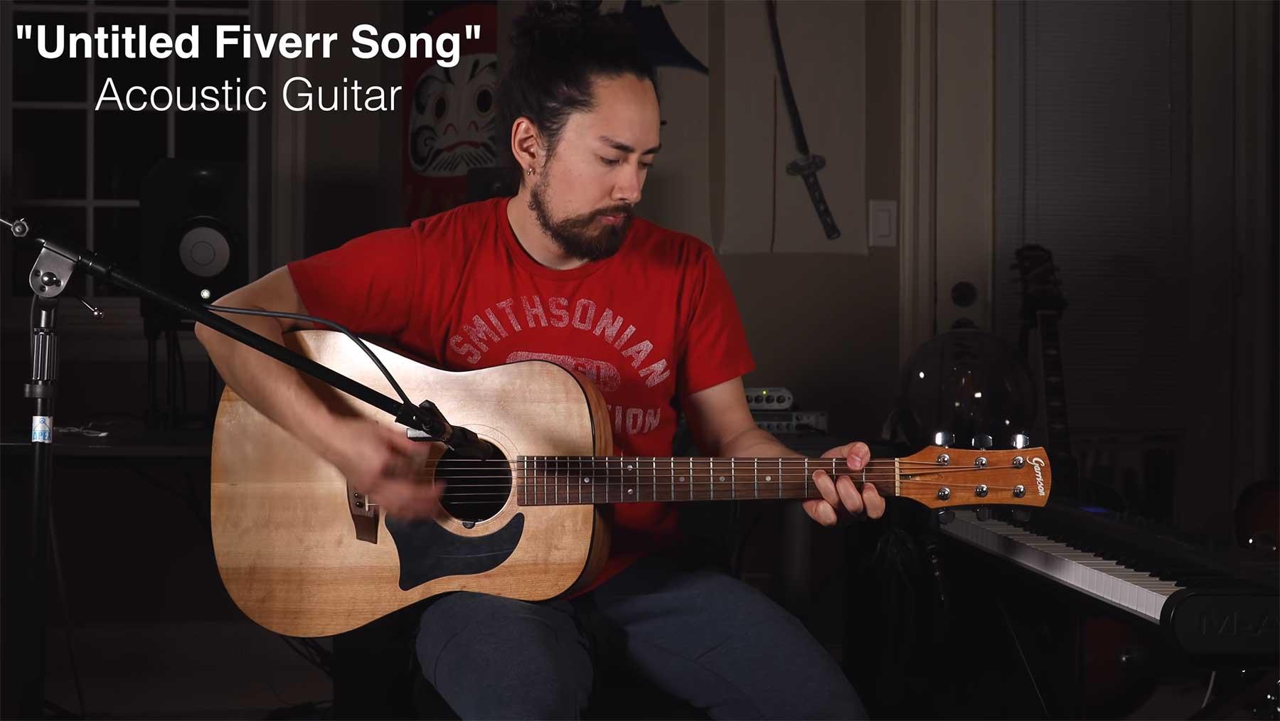 samuraiguitarist hat Musiker von Fiverr einen Song machen lassen
