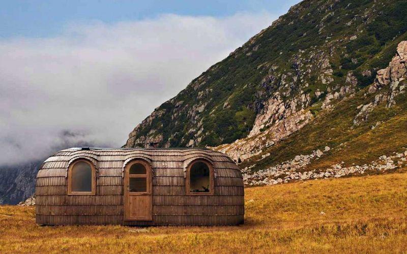 Diese Holz-Iglus sind ziemlich stylische Tiny Homes
