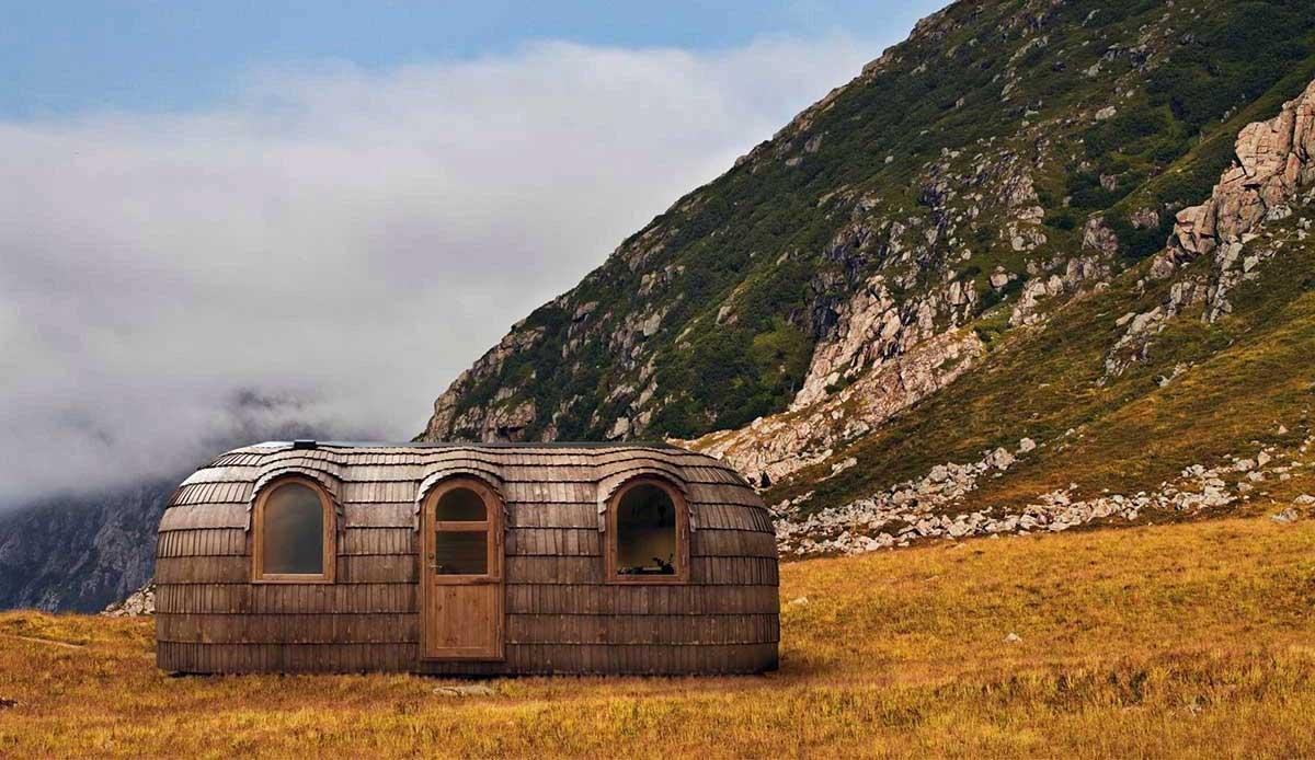 Diese Holz-Iglus sind ziemlich stylische Tiny Homes iglucraft_holz-iglu_01