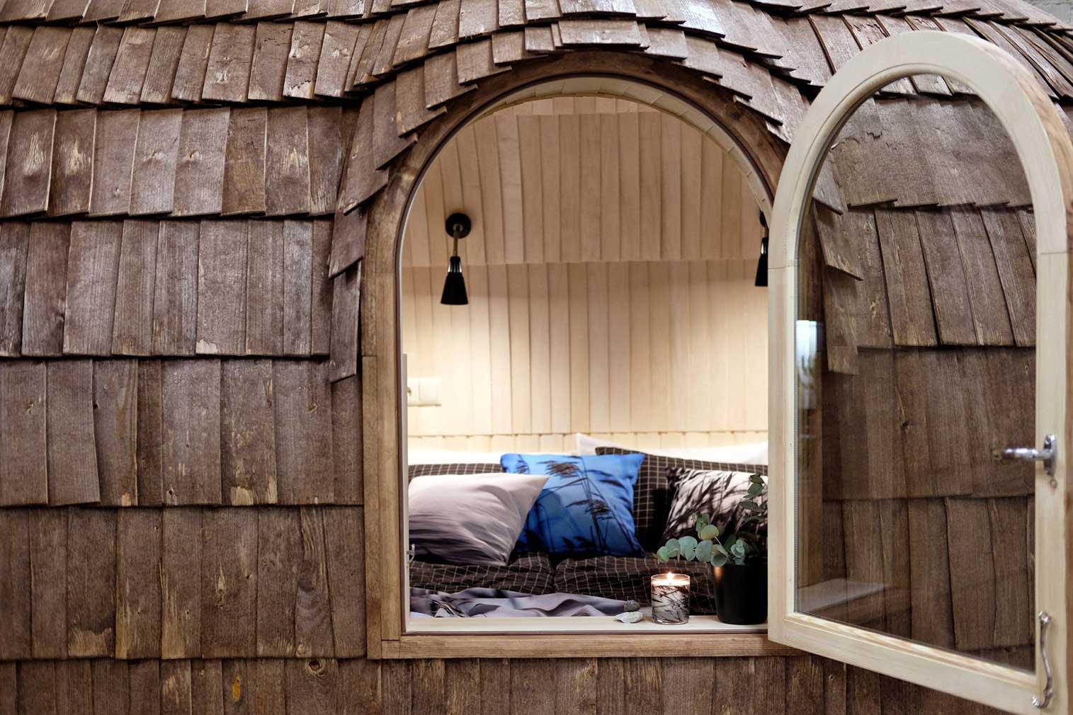 Diese Holz-Iglus sind ziemlich stylische Tiny Homes iglucraft_holz-iglu_04