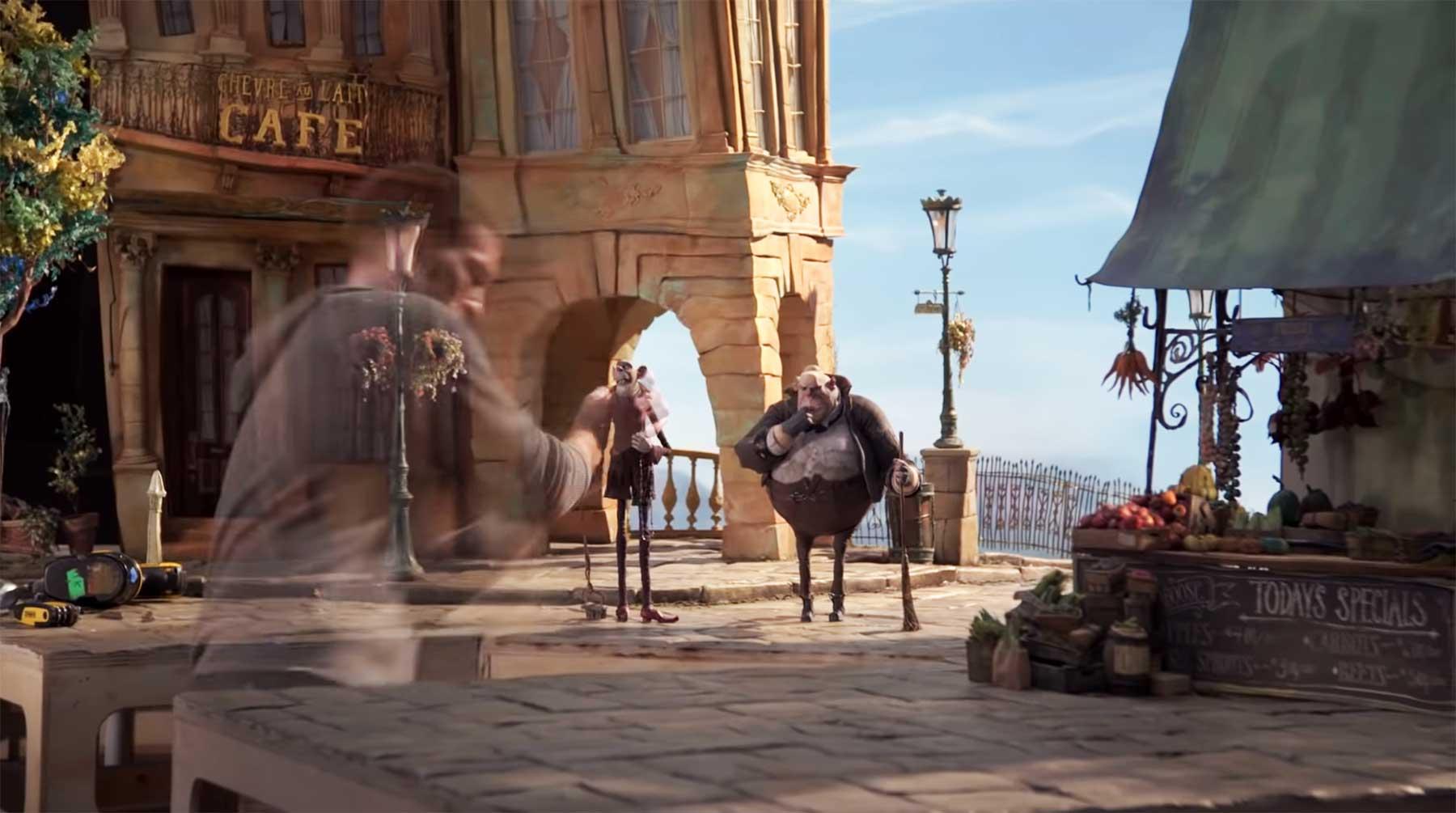 """Einblicke in die Stopmotion-Arbeit zum Film """"Missing Link"""""""
