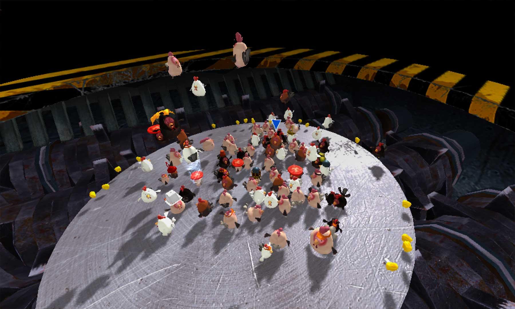 """""""Nugget Royale"""": Multiplayer-Kampf ums Hühner-Überleben"""