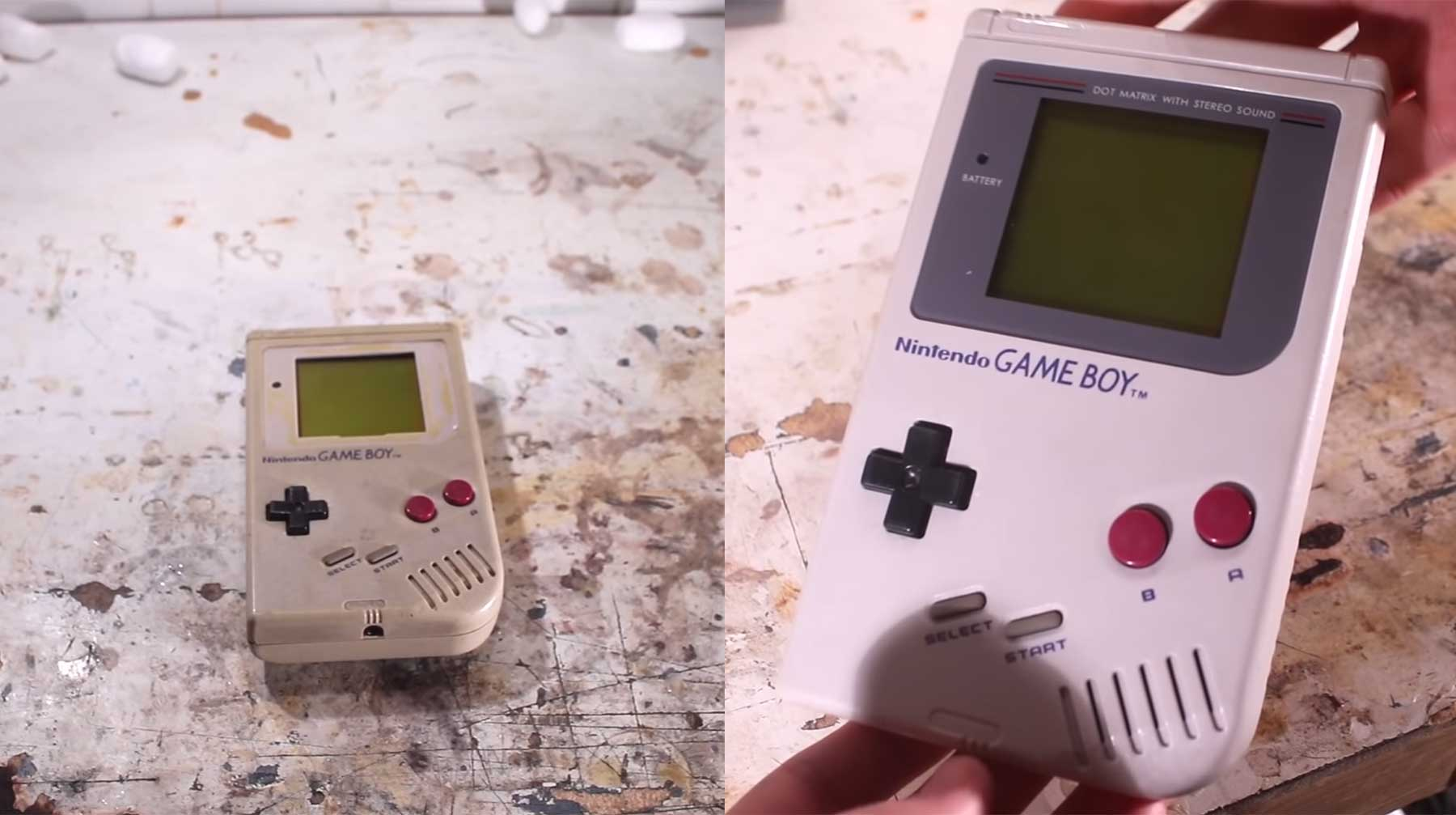 Restauration eines Game Boy