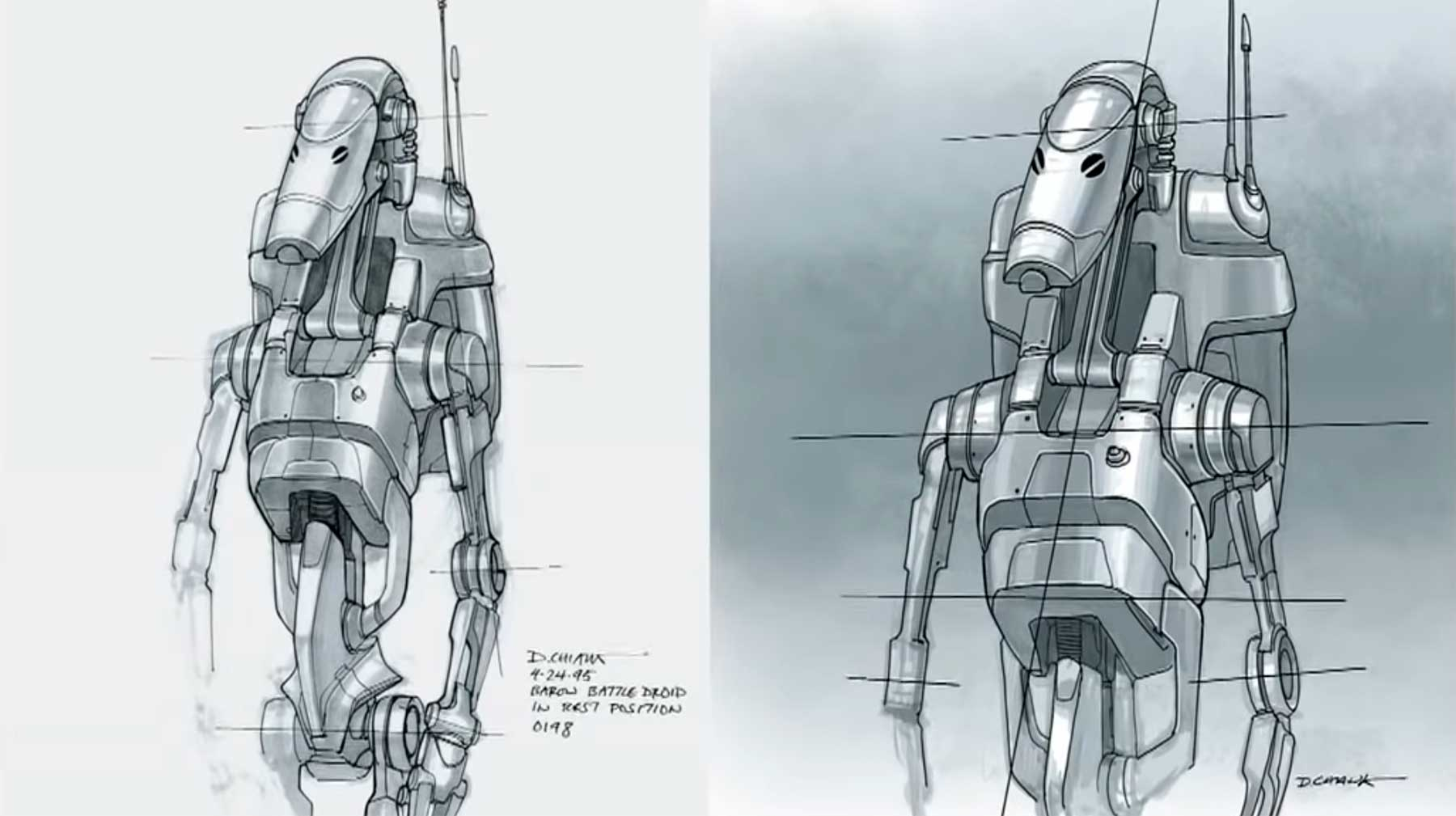 The Evolution of Star Wars Design