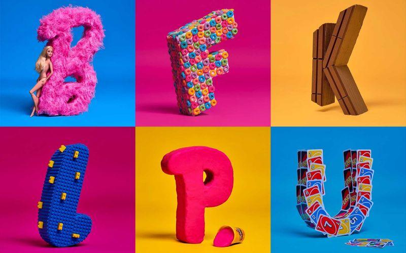 Marken-Alphabet von Jaime Sánchez