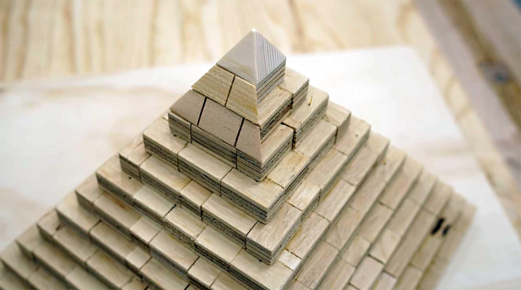 Wie die großen Pyramiden vermutlich gebaut wurden