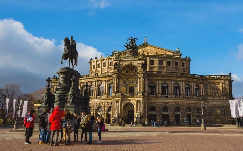 Timelapse: Dresden in 4K