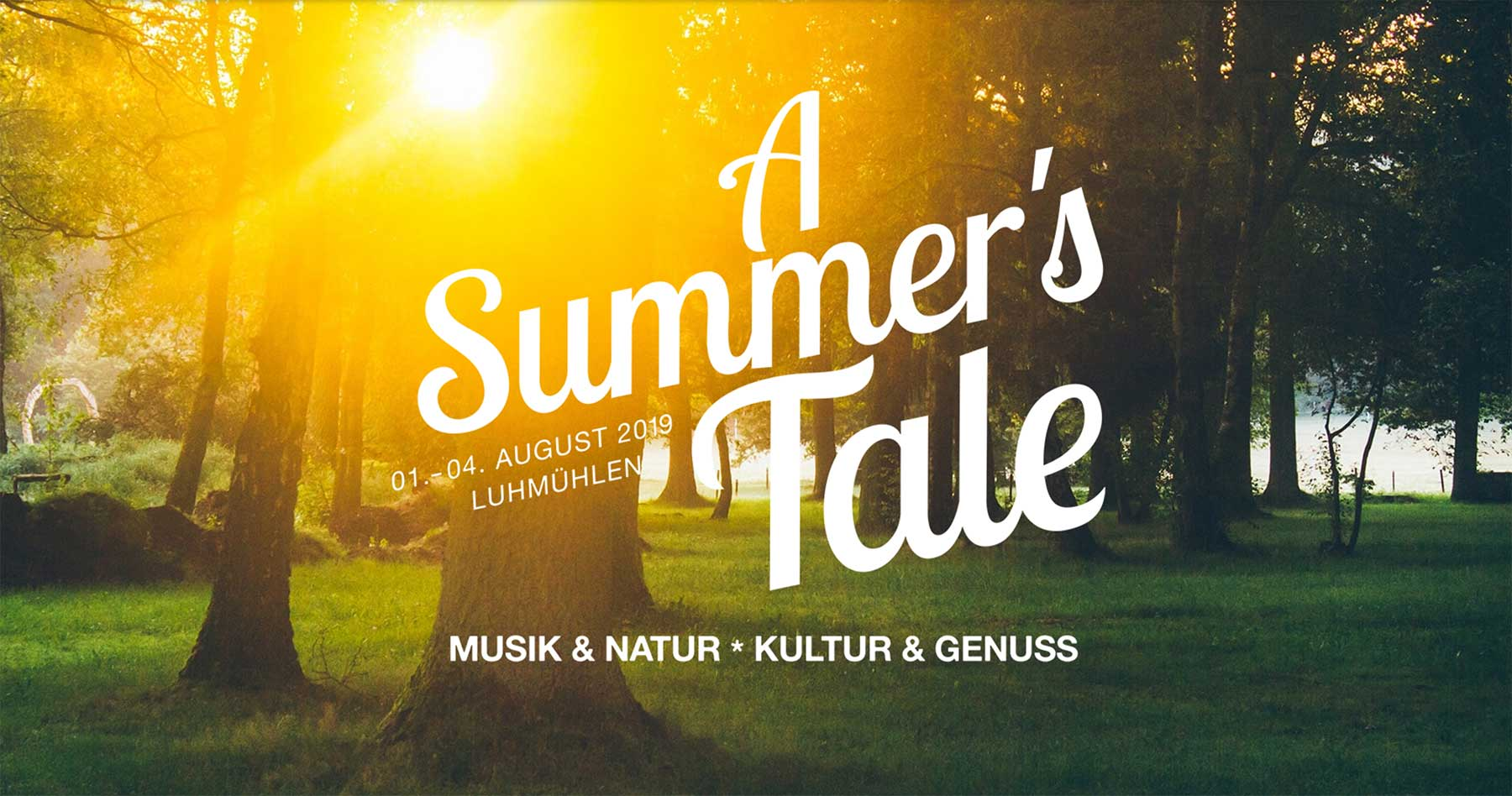 A Summer's Tale 2019: Musik-Line-up des etwas anderen Festivals a-summers-tale-festival-2019