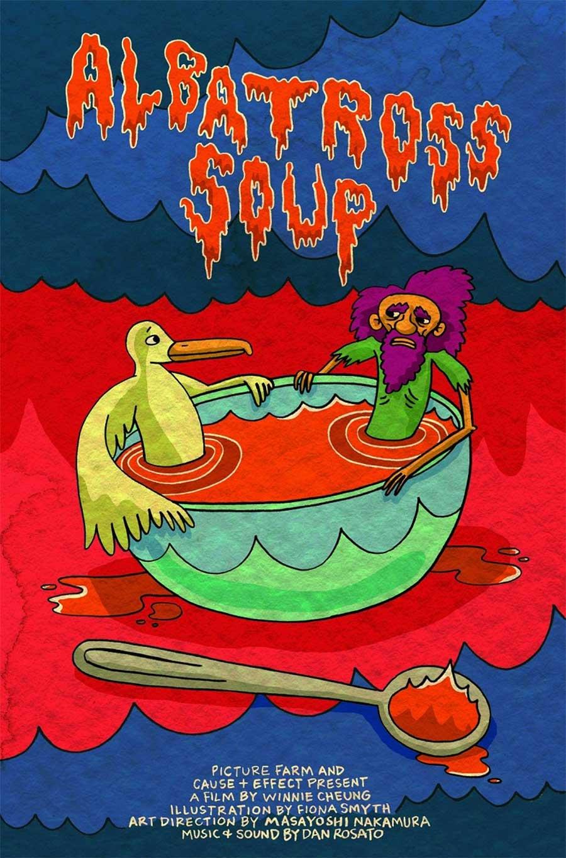 Das Rätsel um die Albatros-Suppe albatross-soup-poster