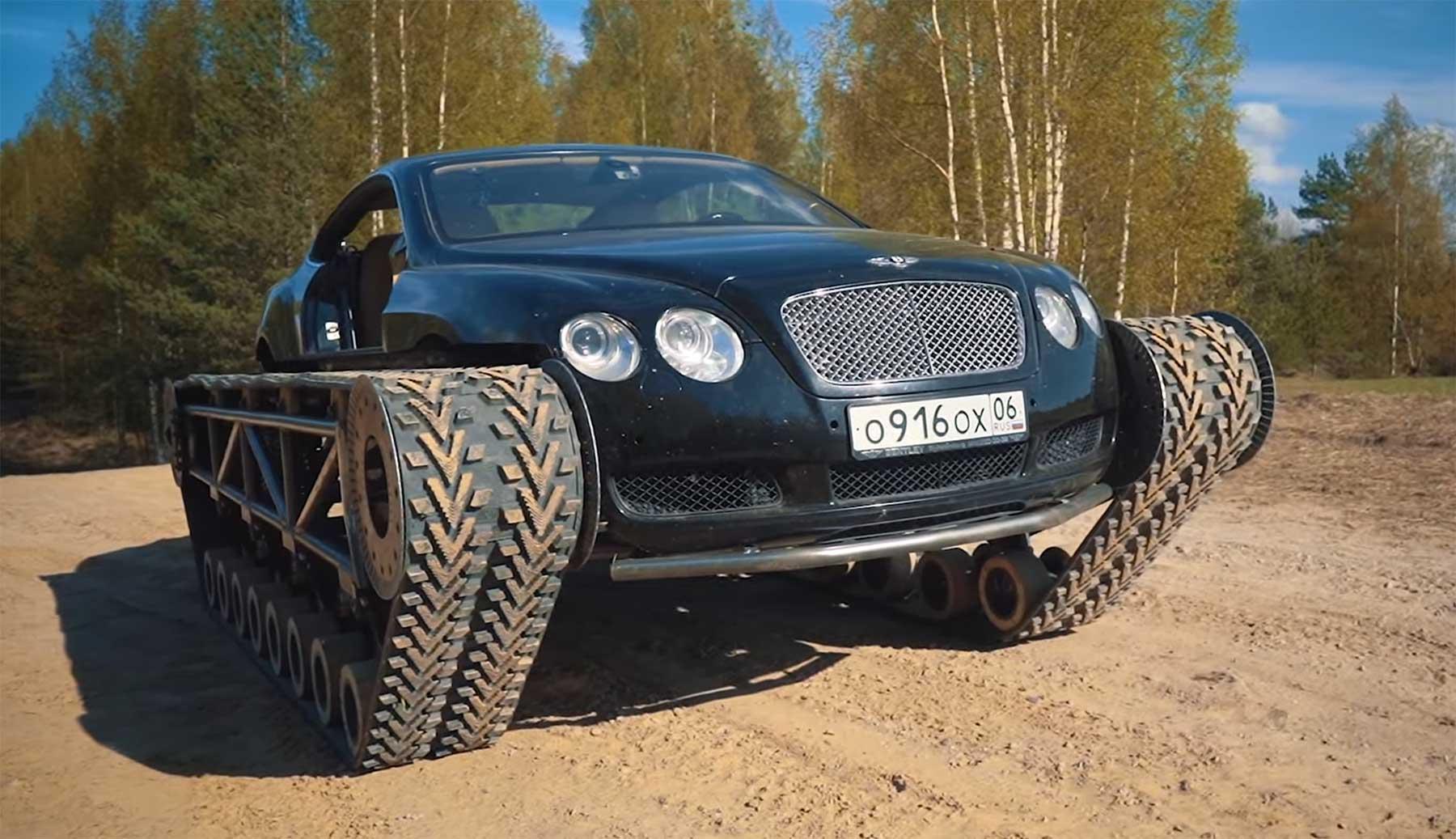Nur ein Bentley, der zum Panzer umgebaut wurde
