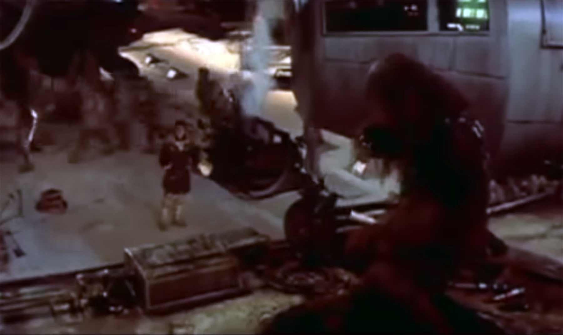 """Als Chewbacca am """"Star Wars""""-Set Englisch gesprochen hat chewbacca-spricht-englisch"""