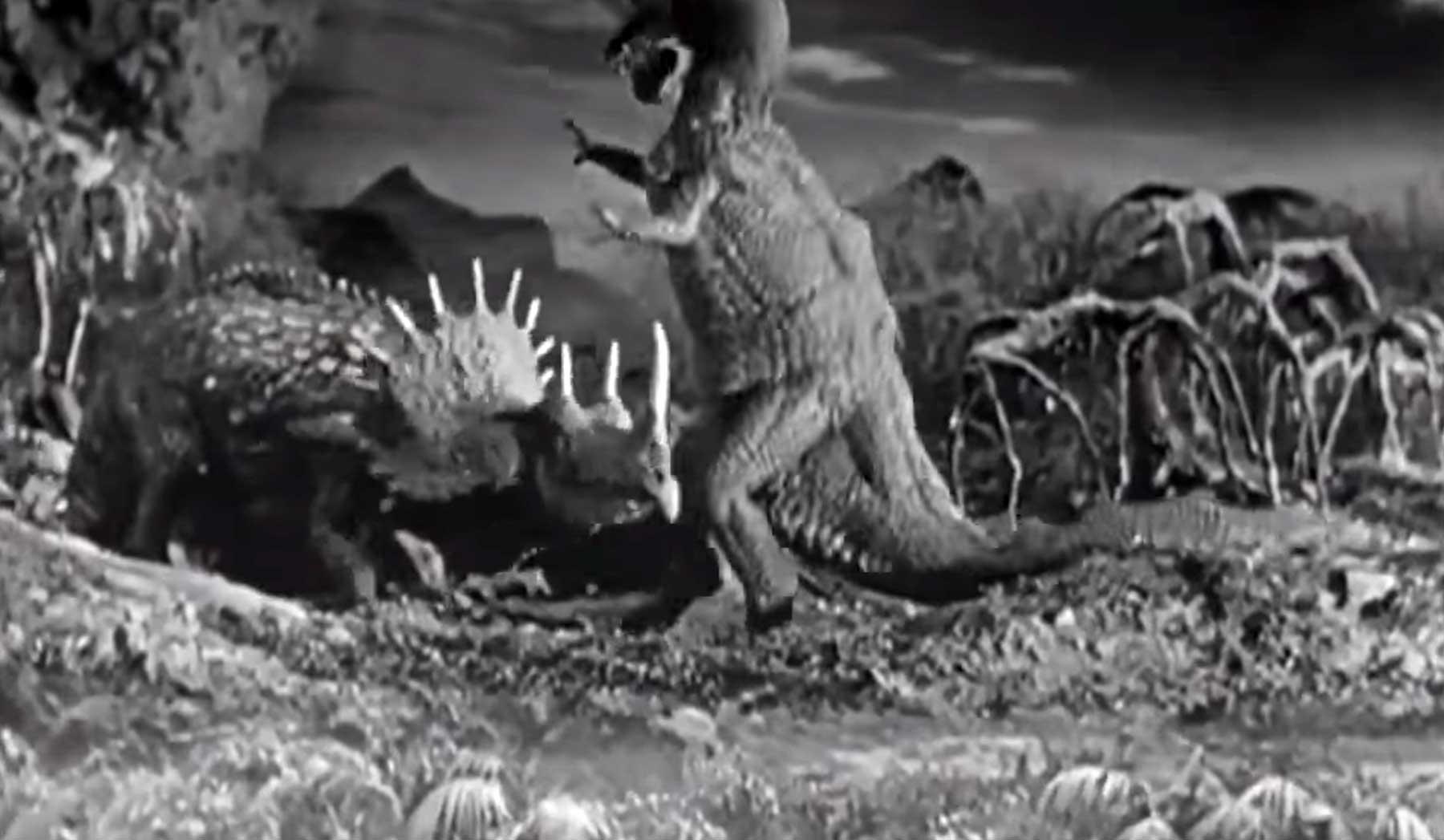 Die Entwicklung von Dinosauriern in Filmen