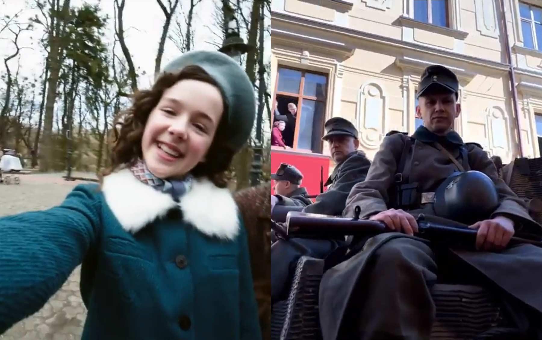 Der Holocaust aus der Sicht eines Mädchens auf Instagram erzählt eva-stories-holocaust-instagram