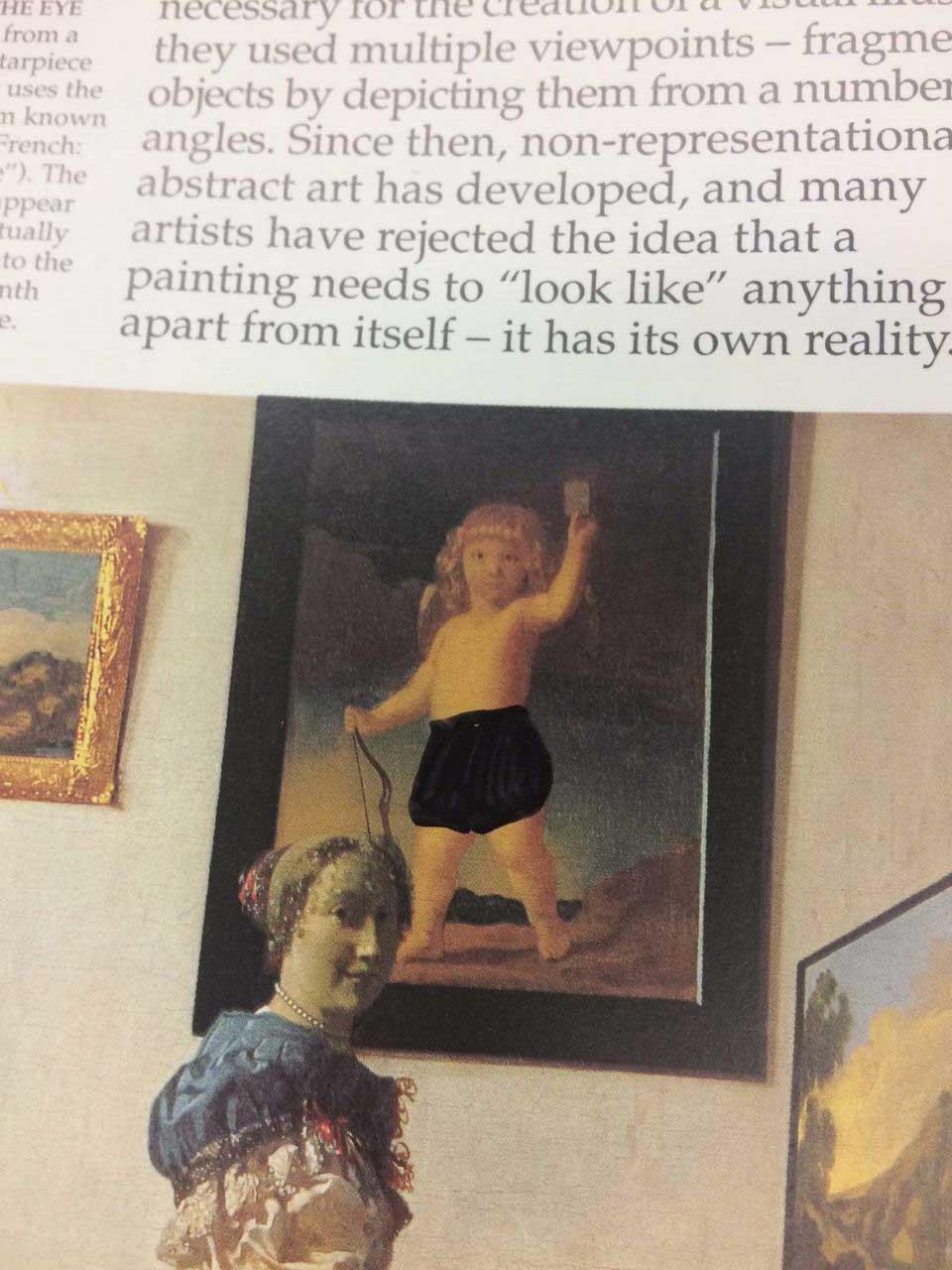 So absurd wurde ein Kunstbuch in einer christlichen Schule zensiert looking-at-paintings-christliche-zensur_05