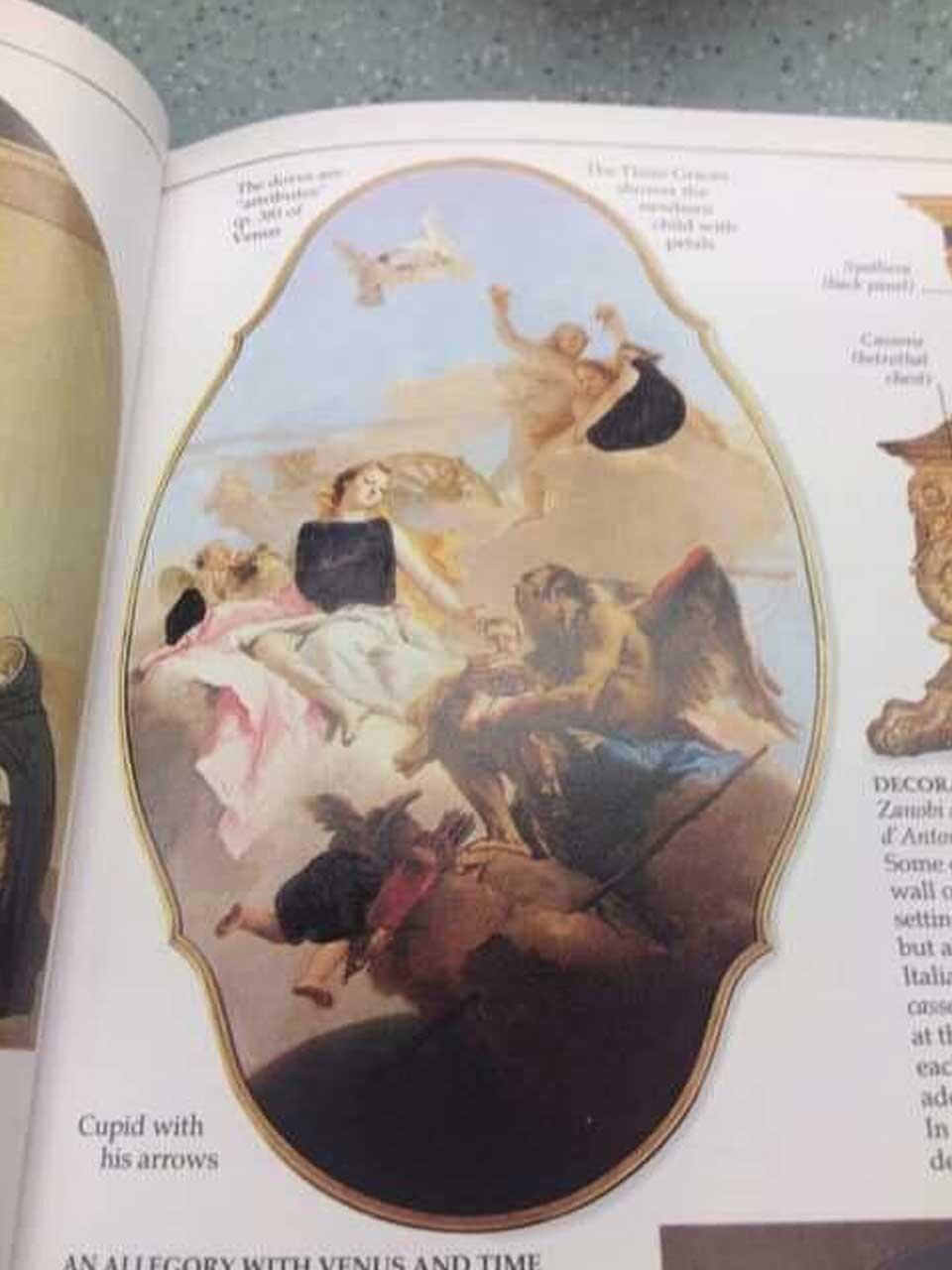 So absurd wurde ein Kunstbuch in einer christlichen Schule zensiert looking-at-paintings-christliche-zensur_06