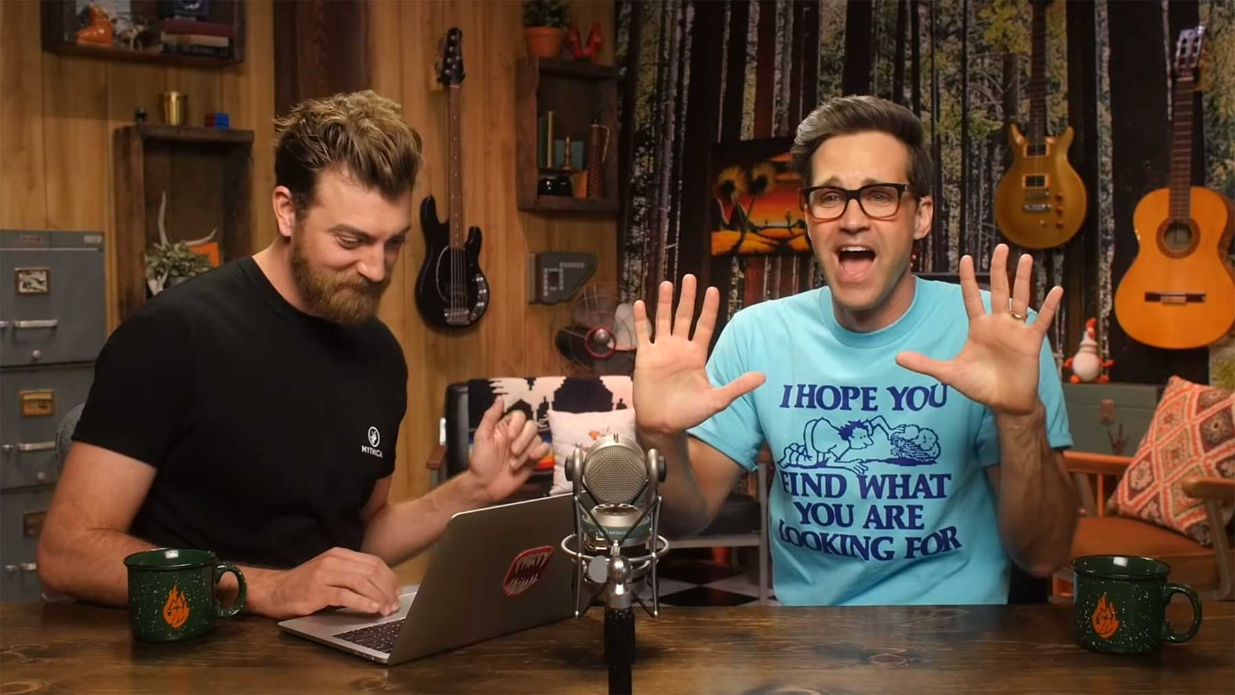 Rhett & Link versuchen, unerwartete Video-Ausgänge zu erraten