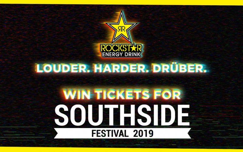 2×3 Tickets für das Southside Festival mit Rockstar Energy
