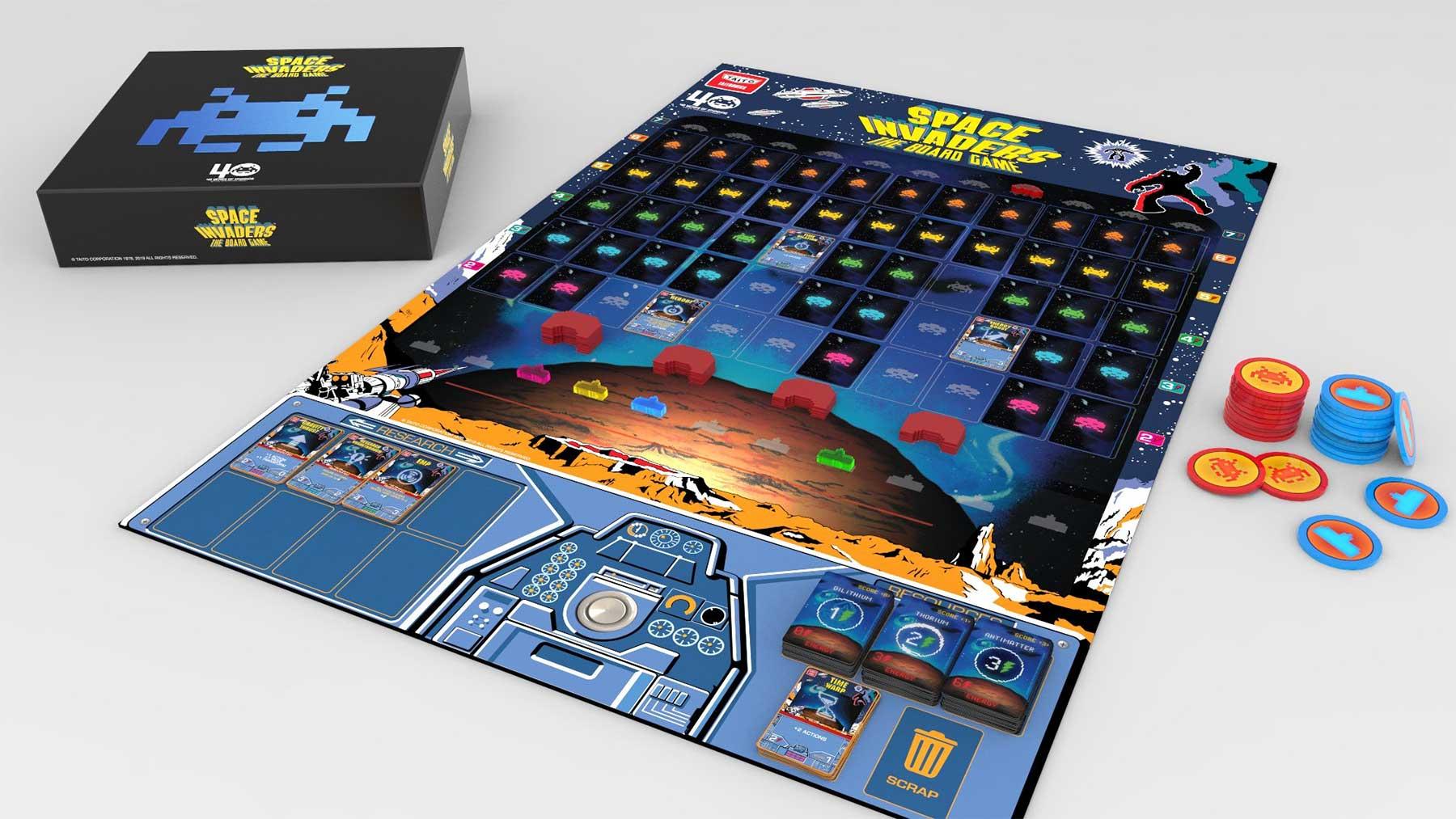 """""""Space Indavers"""" als Brettspiel kaufen"""