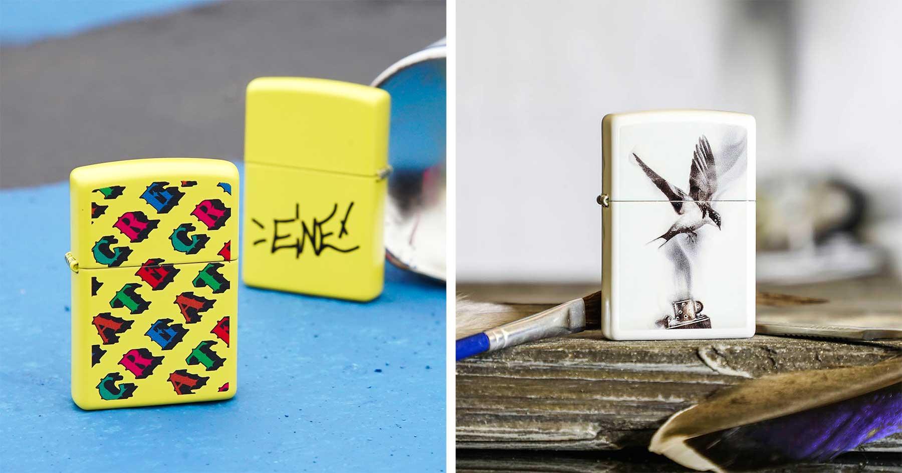 Erstes Interview mit einem Feuerzeug-Designer von Zippo in Deutschland zippo-artist-collection