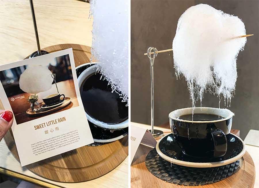 Diese Zuckerwatte-Wolke regnet in Kaffeetassen zuckerwattenwolke-kaffee_04