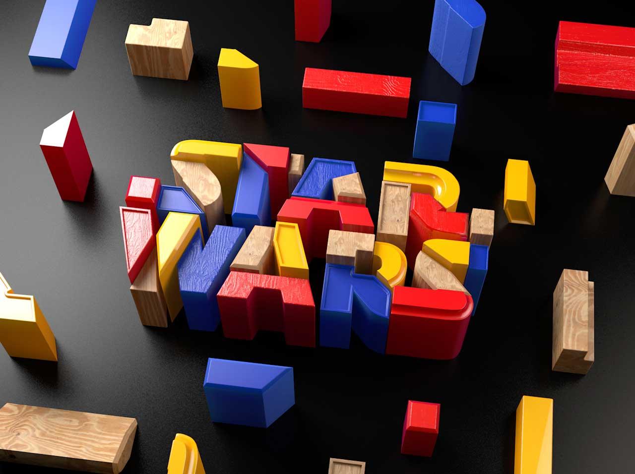 3D-Typografie von DUSK DUSK-3D-Typografie_12