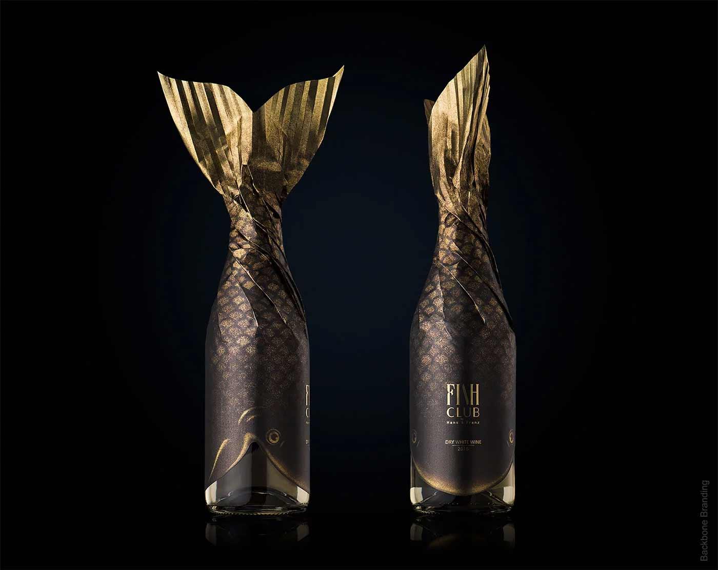 """Verpackungsdesign für """"Fish Club""""-Weinflaschen Fish-Club-Wine-produktdesign-fischflaschen_05"""