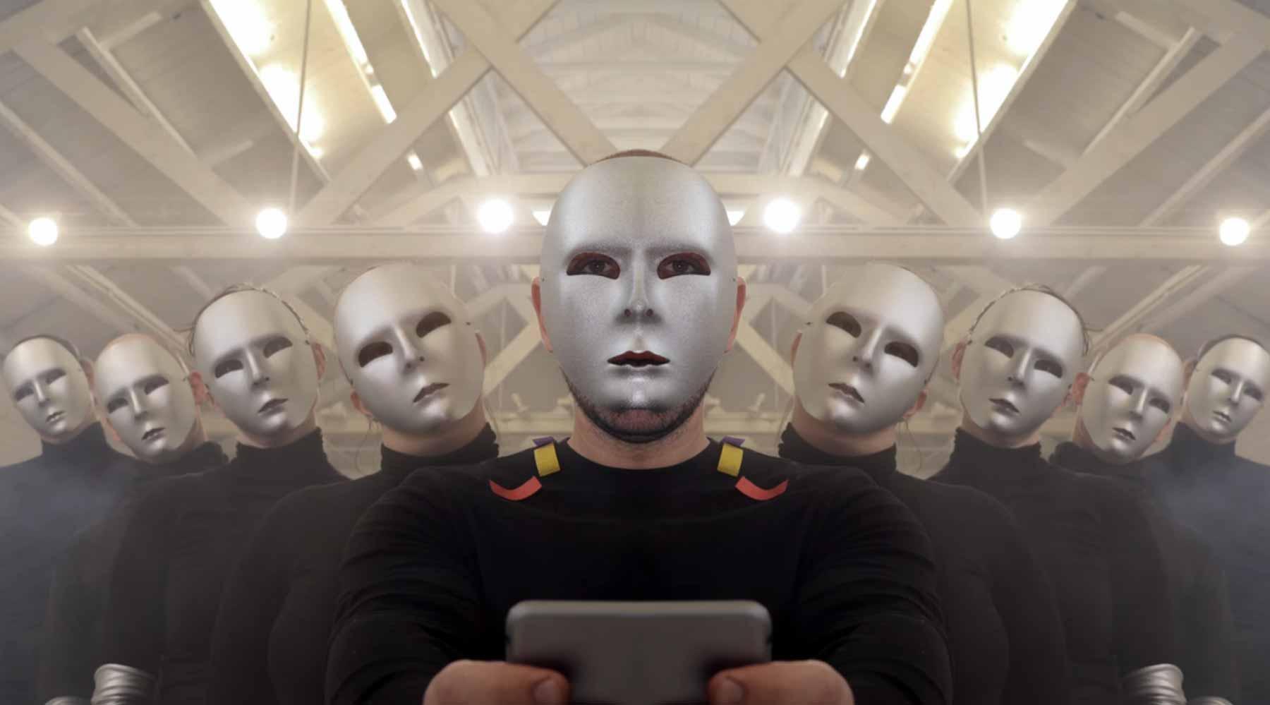 Das symmetrische Zusammenleben mit Robotern