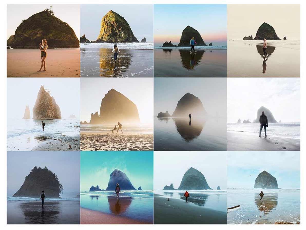 Auf Instagram gibt es nur noch die gleichen Bilder zu sehen
